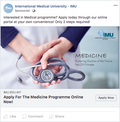 A Check-Up for IMU's Ad Campaign – Cause Effect